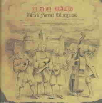 BLACK FOREST BLUEGRASS BY BACH,PDQ (CD)